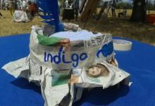 Sombreros de papel Indigo
