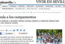 Indigo en el Diario de Sevilla